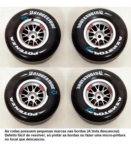 leia o anúncio rodas e pneus ferrari f2004 kyosho deagostini