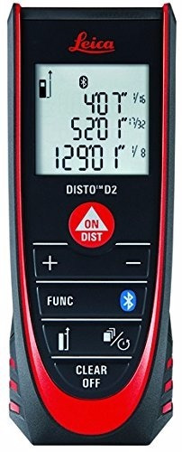 leica disto d2 838725 medidor de distancia  laser  330 mts