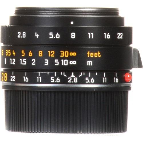 leica elmarit m 28mm f/2.8 asph lente 11677