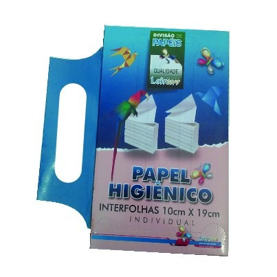 leiraw papel higiênico interfolhado