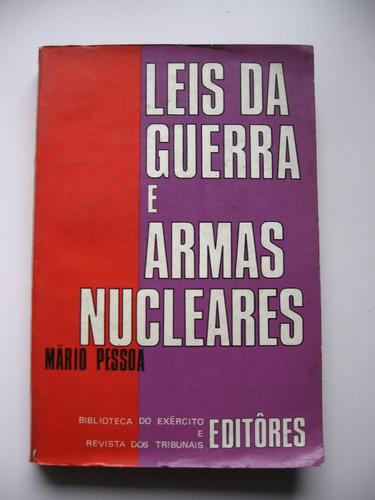 leis da guerra e armas nucleares - mario pessoa