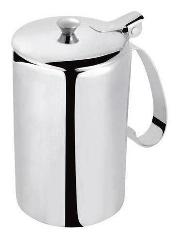 leiteira aço inox ecolumi 750ml - gedex