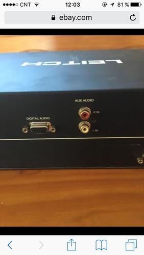 leith bob 4000 breackout box audio video