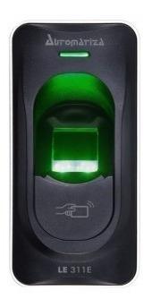 leitor biométrico com rfid intelbras le 311e 125 khz cartão
