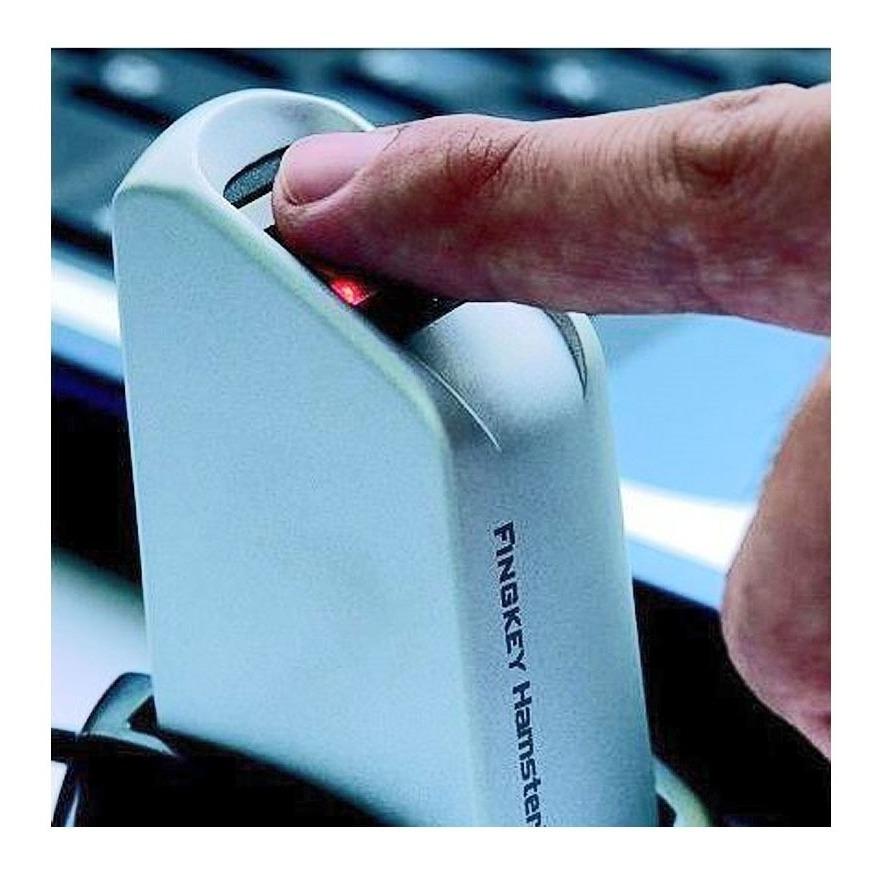 0e1b19bd1 Leitor Biométrico Hamster Fingkey Dx - Nitgen - Novo Com Nf - R$ 569 ...