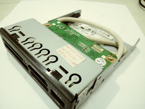 leitor cartão memória interno marca hp 3/5  usb cr504u2