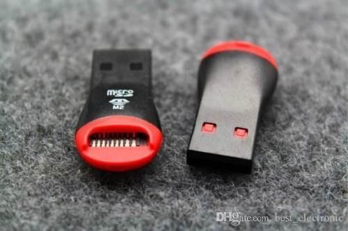 leitor cartão micro sd adaptador usb pen drive  frete grátis