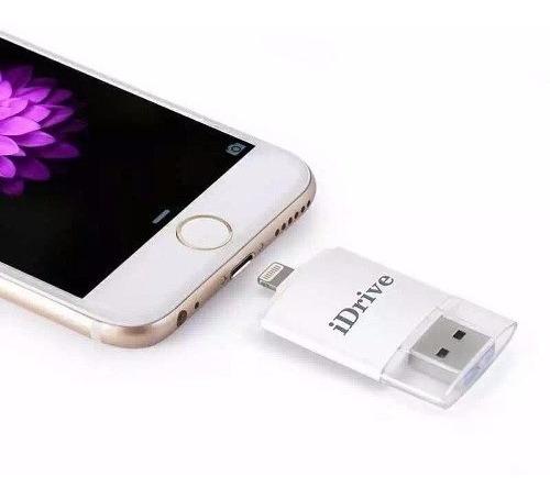 leitor cartão sd pen drive p/ ipad iphone 6 7 8 plus xr max