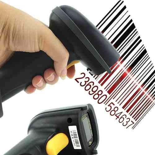 leitor código de barras wireless 30m s/ fio custo benefício