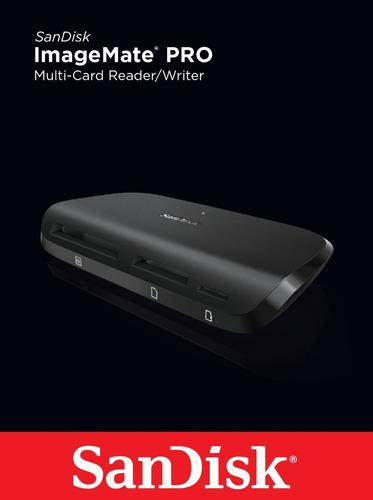 leitor de cartão sandisk imagemate pro all-in-one usb 3.0