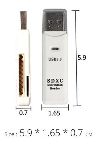 leitor de cartão usb 3.0 adaptador micro sd frete r$14,00