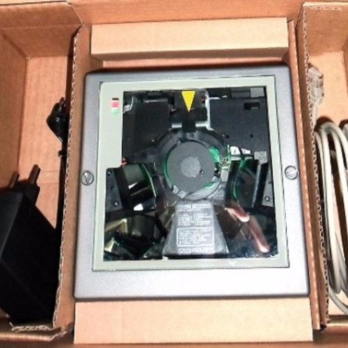 leitor de código de barra laser fixo mesa ls-5800 serial/usb