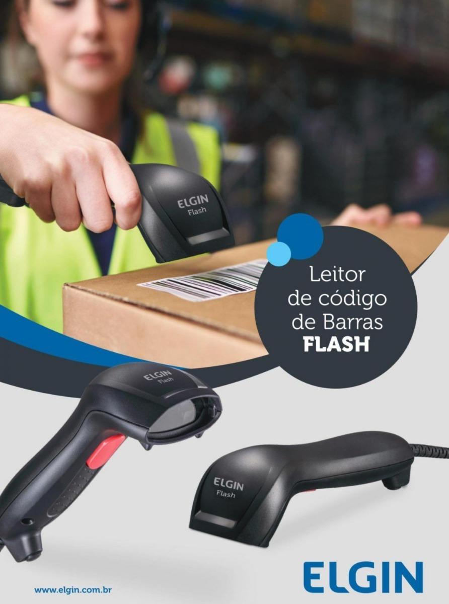 Leitor De Código De Barras Boleto Elgin Flash Usb - R$ 120,00 em ...