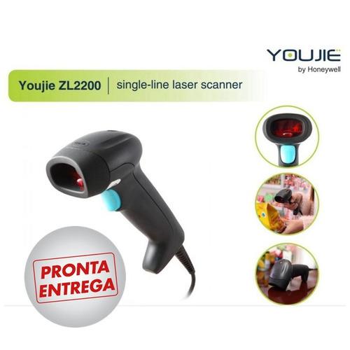 leitor de código de barras laser honeywell youjie zl2200 usb
