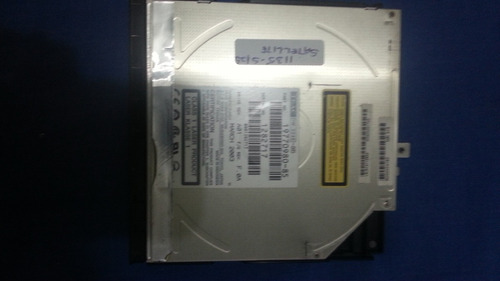 leitor de dvd/gravador de cd toshiba satellite 1135 séries