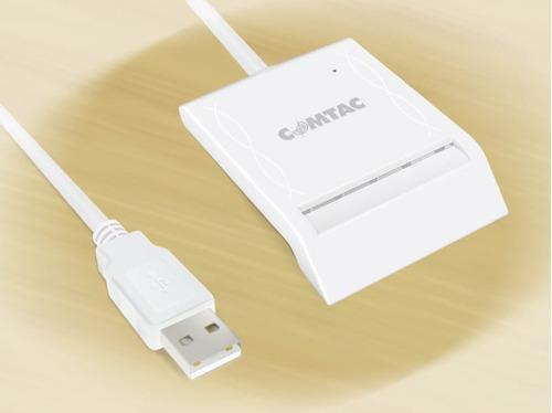 leitor de smart card para certificado digital e-cpf e-cnpj