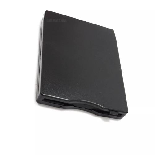leitor drive disquete externo usb para pc ou notebook 1,44