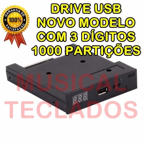 leitor drive emulador disquetes psr550 usb yamaha model 2016