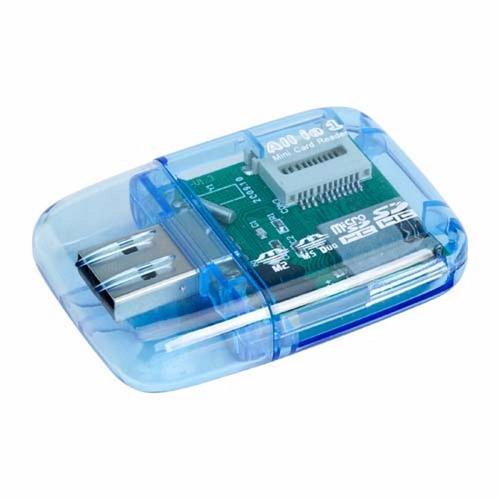 leitor e gravador cartão micro sd all in one usb 2.0 m2