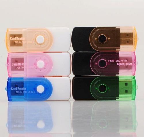 leitor e gravador de cartões de memória universal