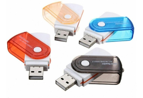 leitor usb gravador adaptador cartão de memória micro sd a64