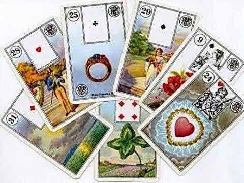 leitura baralho cigano - método 3 cartas