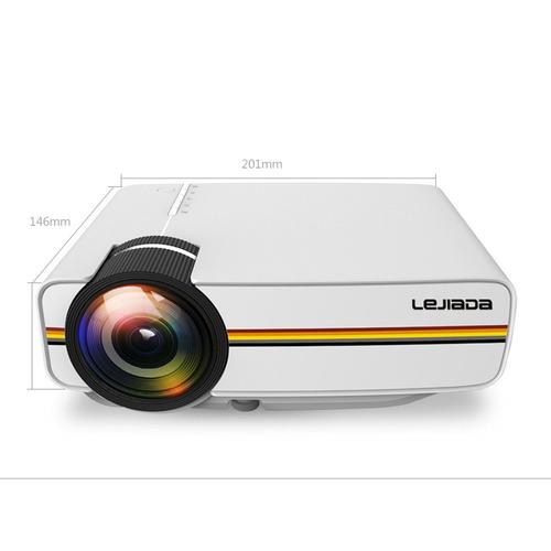 lejiada proyector yg410 lcd portátil ue white2
