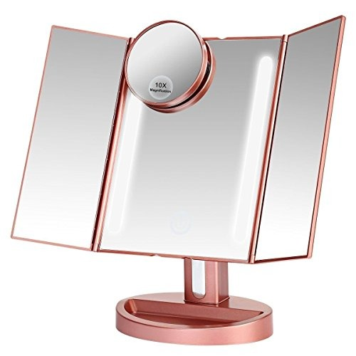 Leju makeup mirror natural daylight lighted vanity mirror leju makeup mirror natural daylight lighted vanity mirror aloadofball Choice Image