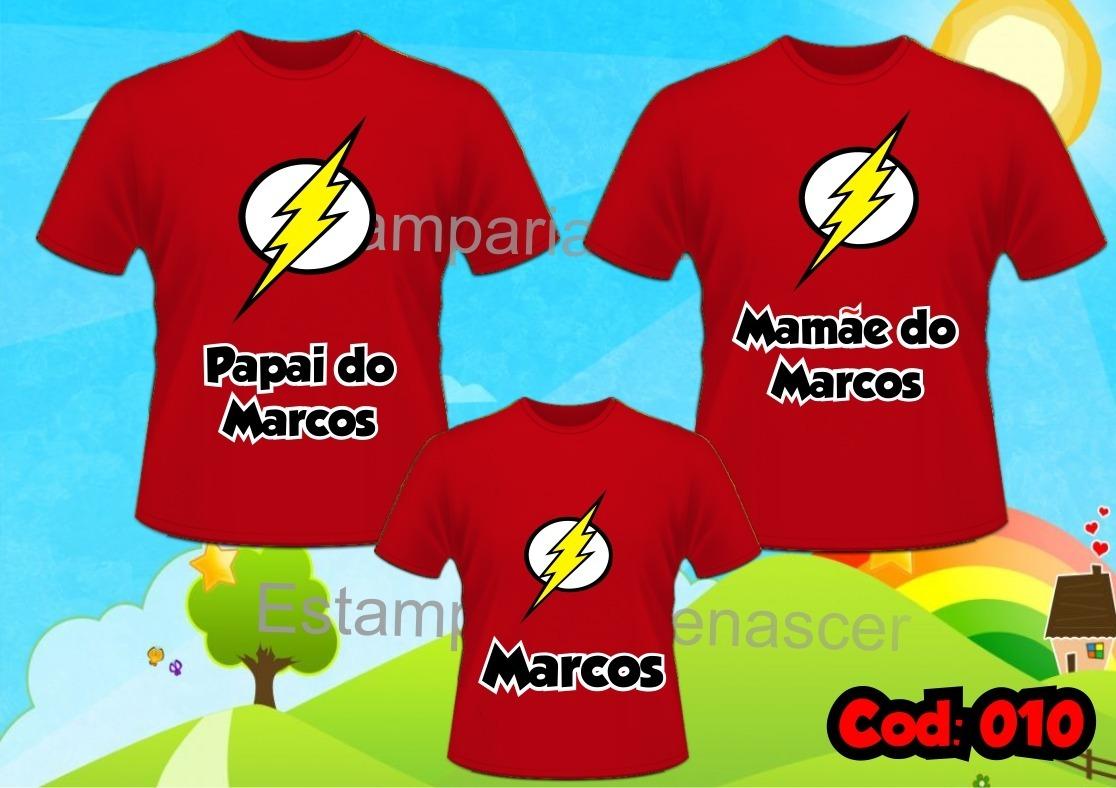 9ebc16a630 lembrança de aniversario - time camisetas kit com 3 flamengo. Carregando  zoom.