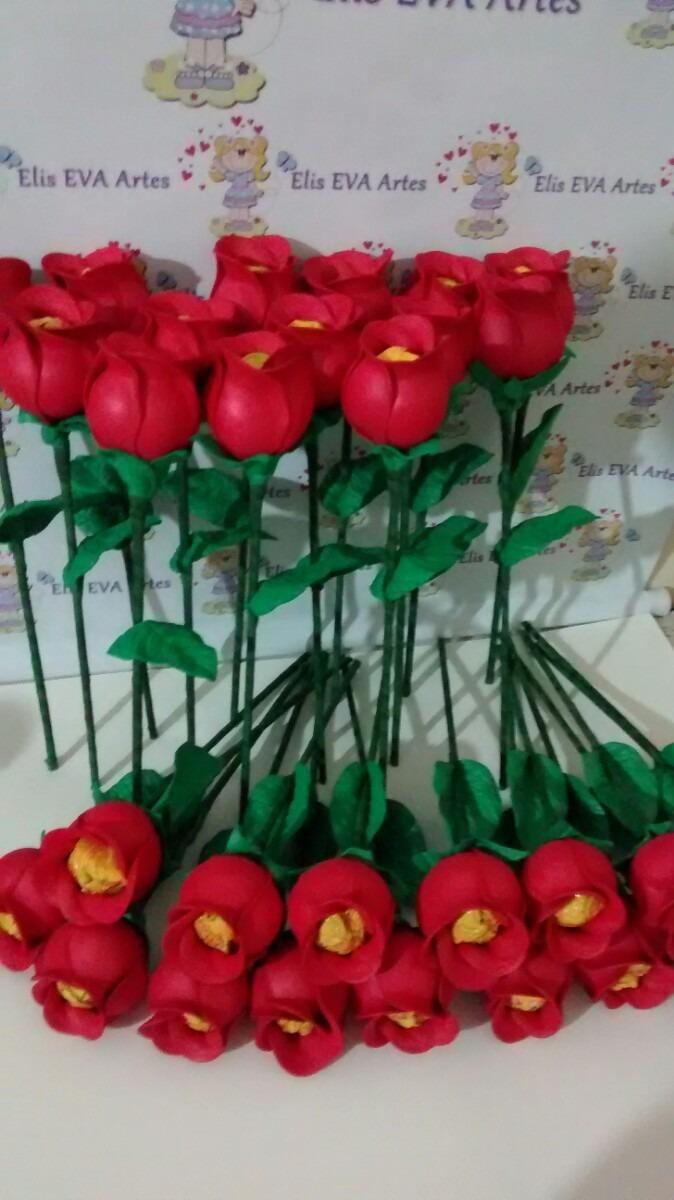 modelo lembrancinha flor coracao eva feltro dia das maes (3)