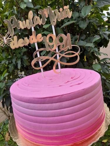 lembrança personalizada, convite para padrinho, topo de bolo