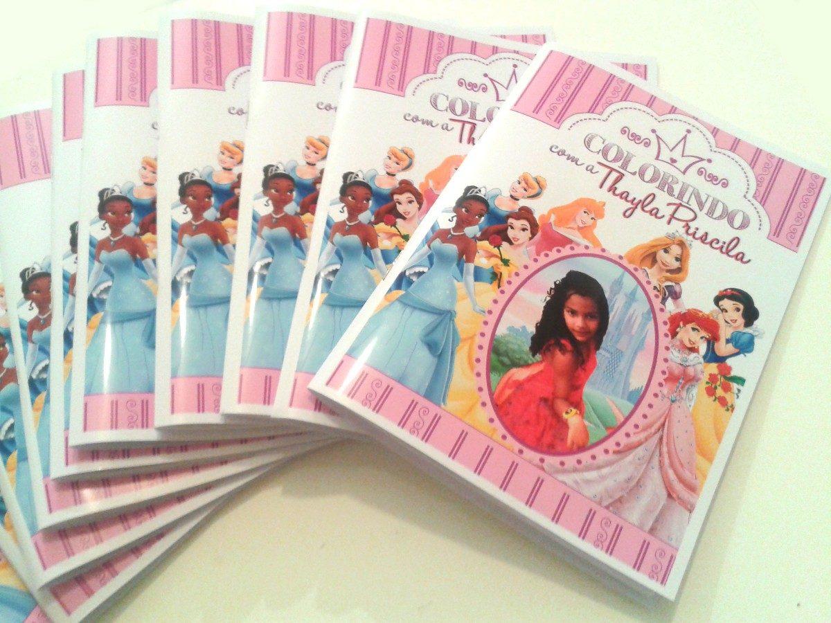 Lembrancinha 50 Livros Revistas Para Colorir Personalizado R