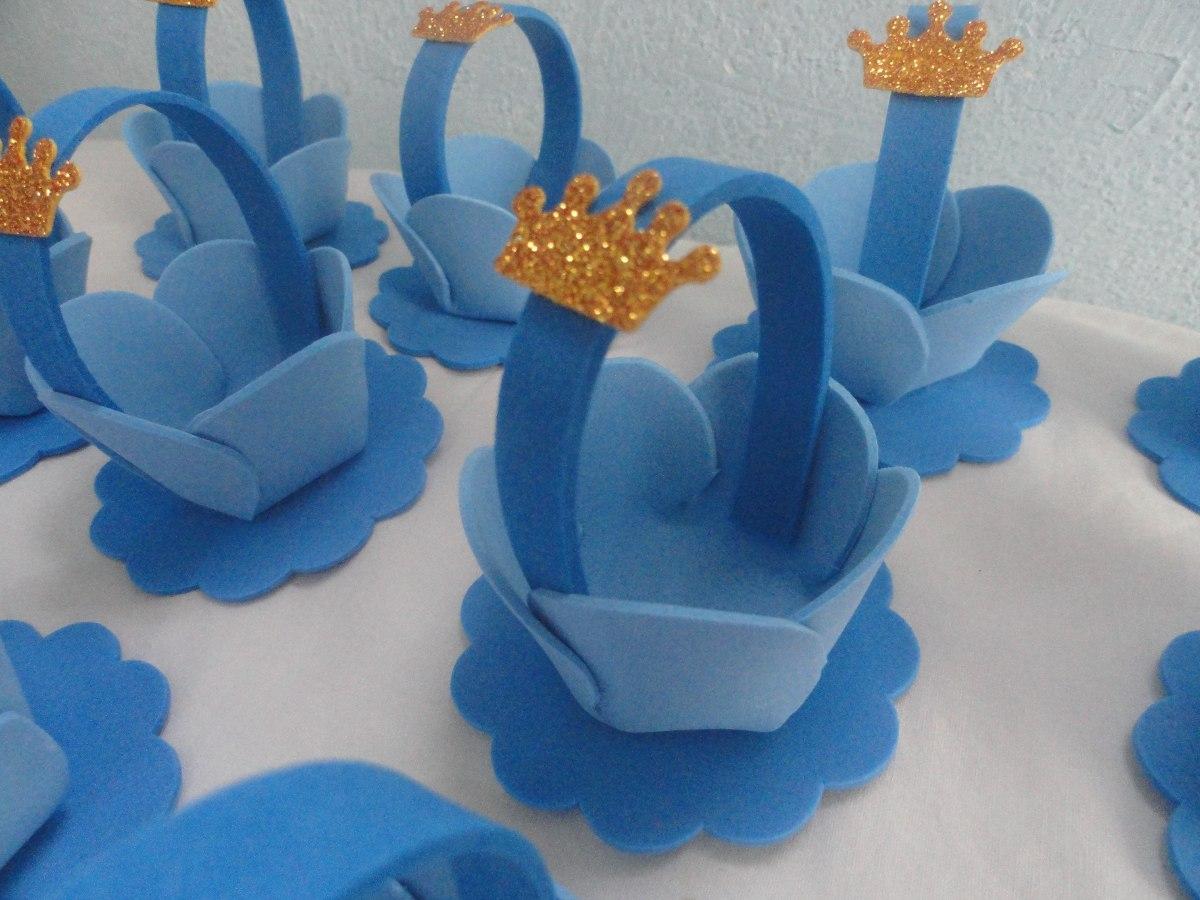 lembrancinha cestinha pequeno principe princesas porta doce. Carregando  zoom.