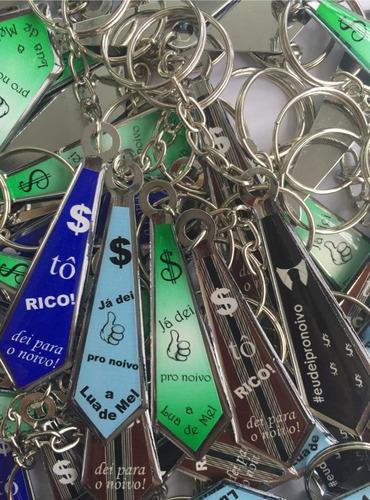 lembrancinha de casamento / chaveiro gravata (50 peças)