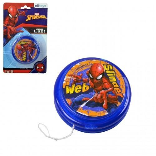 lembrancinha kit c/ 10 ioiô plast homem aranha c/luz