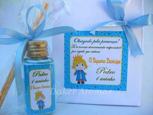 lembrancinha maternidade príncipe  aromatizador+sacolinha