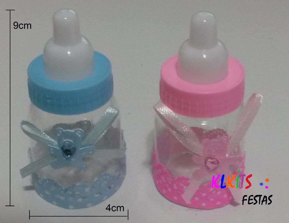 70 Lembrancinha Mini Mamadeira Chá De Bebê Maternidade R 11700