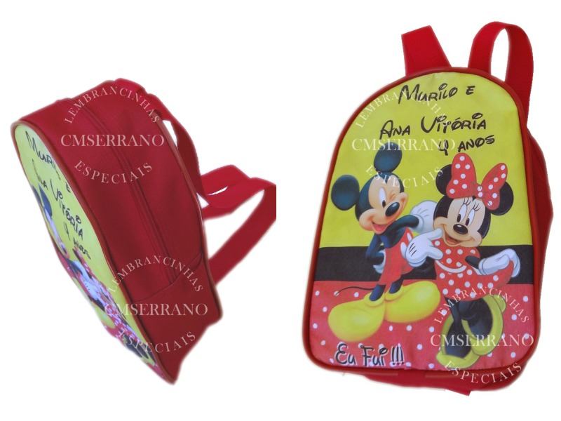 8b6d58a6f lembrancinha mochila personalizada bolsa pasta escolar. Carregando zoom.