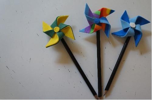 lembrancinha primeiro dia de aula ponteiras para lápis 30 un