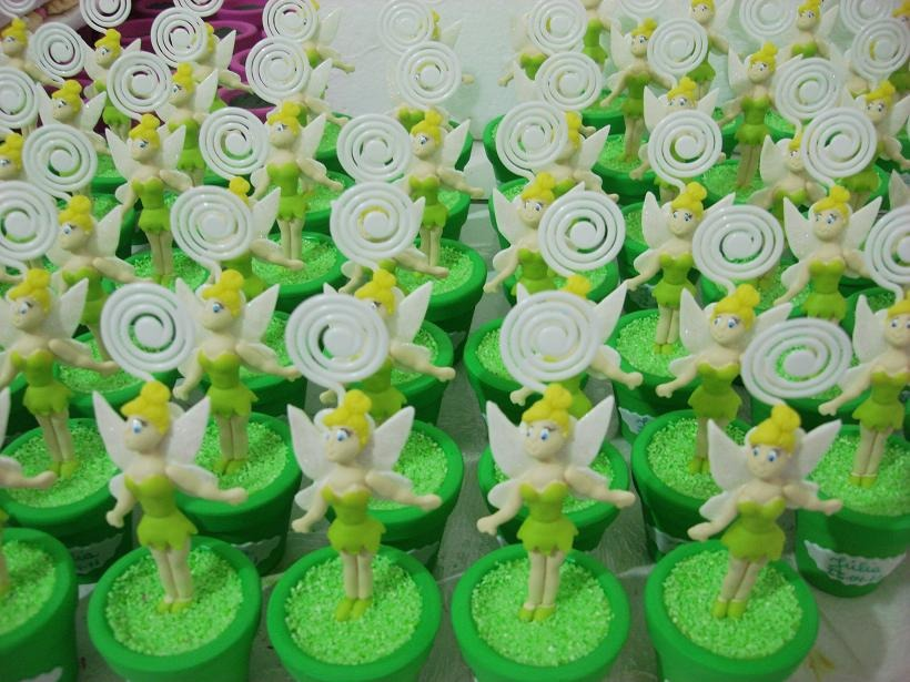 Zoom · Lembrancinha Centro Mesa Tinker Bell