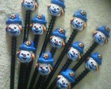 lembrancinhas 10 ponteiras de lápis tema palhaço / circo