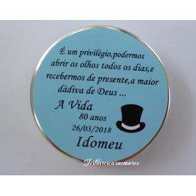 Lembrancinhas Aniversario 80 Anos Masculino No Mercado Livre Brasil