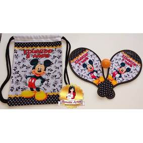 be1c3f399 Lembrancinha Mochila Mickey no Mercado Livre Brasil