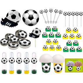 9cdb035f7 Lembrancinha Festa Futebol Embalagem Em Formato De Bola - Tubetes ...