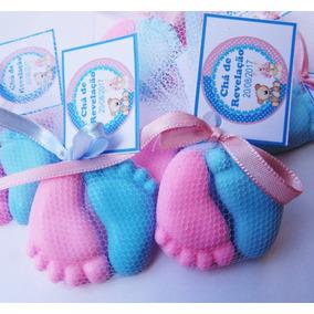 50 Pares Pezin Sabonete Lembrancinha Chá De Bebe Maternidade