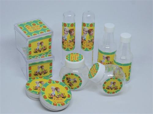 lembrancinhas frozen fever - kit com 100 ítens