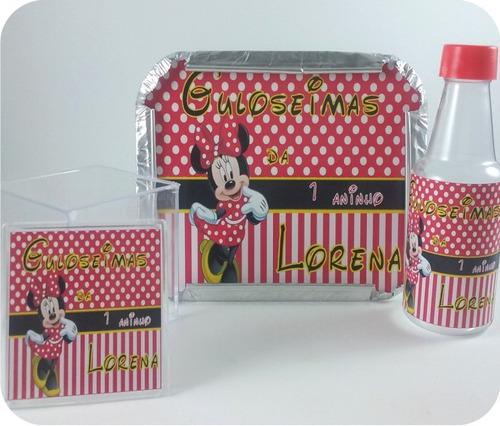 lembrancinhas personalizadas frozen kit com 90 produtos
