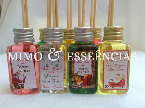 lembrancinhas personalizadas mini aromatizador natal 50ml