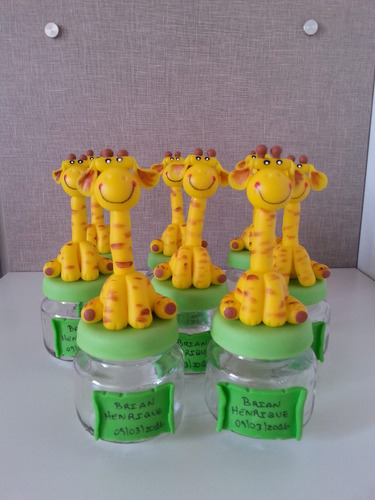 lembrancinhas safari biscuit