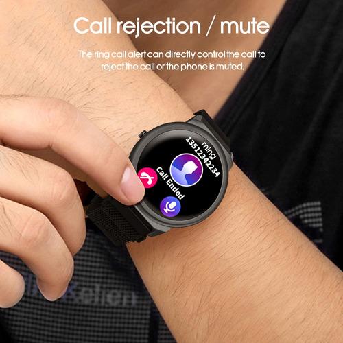 lemfo elf1 relógio inteligente 1.3 ips tela pulseira intelig